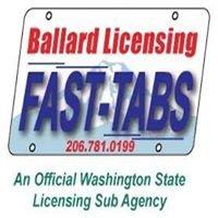 Ballard Auto/Vessel Licensing (FastCarTabs.com)