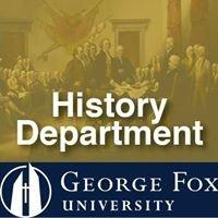 George Fox History Department