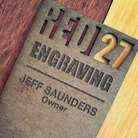 Red 27 Engraving