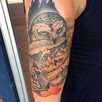 Blaque Owl Tattoo