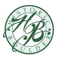 Historic Boulder, Inc.