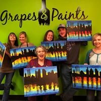 Grapes & Paints