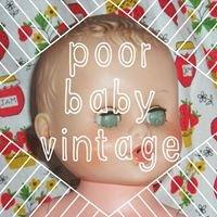 Poor Baby Vintage