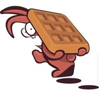 Spooked Rabbit Waffles
