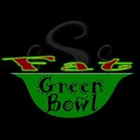 Fat Green Bowl