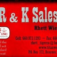 R & K SALES