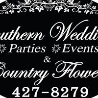 Southern Weddings, Parties, & Events/ Country Flowers