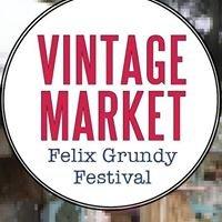 Felix Grundy Festival Vintage Market