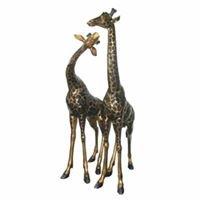 Bronze Giraffe Antiques