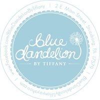 Blue Dandelion by Tiffany