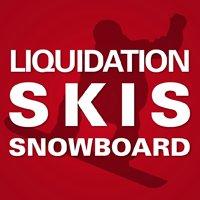 Liquidation monstre de skis et planches à neige