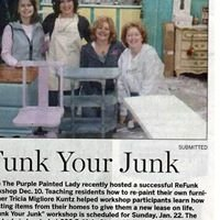 ReFunk YOUR Junk at The Purple Painted Lady