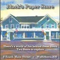 Black's Paper Store