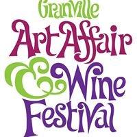 Granville Art Affair & Wine Festival