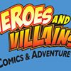 Heroes and Villains Comic Book store