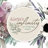 Alicia's Infinity - Watercolour Illustration & Wedding Stationery