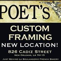 Poets Custom Framing