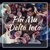 Phi Mu Delta Iota at Baldwin Wallace University