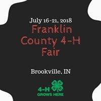 Franklin County Indiana 4-H Fair