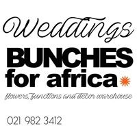 Bunches for Africa Weddings, Functions, Decor and Styling