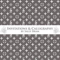Invitations & Calligraphy by Sally Bram
