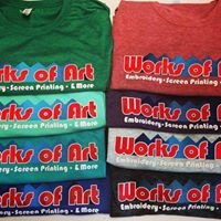 Works of Art Embroidery & Screen Printing