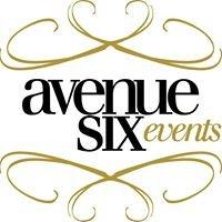 Avenue Six Events