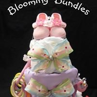 Blooming Bundles Diaper Cakes