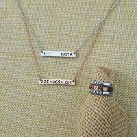 Parajax Hand Stamped Jewelry