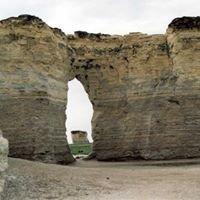 Monument Rocks Chalk Pyramids Kansas