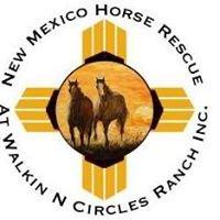 New Mexico Horse Rescue at Walkin N Circles Ranch - WNCR