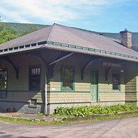 Phoenicia Railroad Station