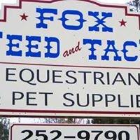 Fox Feed and Tack