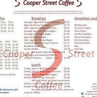 Cooper Street Coffee