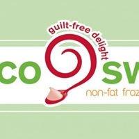 Coco Swirl Non-Fat Frozen Yogurt