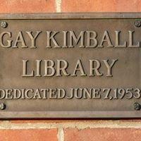 Gay-Kimball Library