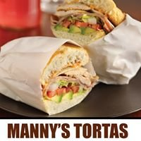Manny's Tortas : Mercado Central