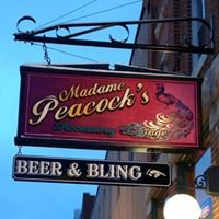 Madame Peacock's Beer & Bling