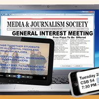 Media & Journalism Society at SUNY New Paltz
