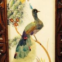 Opal Peacock Vintage