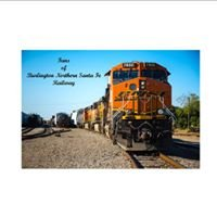 Fans of Burlington Northern Santa Fe Railway