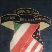 Italian American Found Club