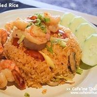 Cafe'ine Thai Cafe - คาเฟอีน