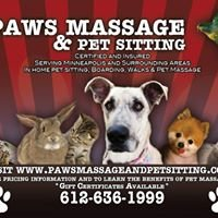 Paws Massage and Pet Sitting