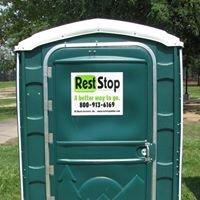 Rest Stop Portable Toilets