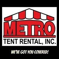 Metro Tent Rental, Inc.
