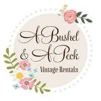 A Bushel & A Peck Vintage Rentals
