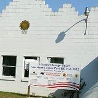American Legion Orange Baker Post #187 Reconstruction Project