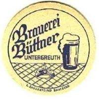 Brauerei Büttner Untergreuth