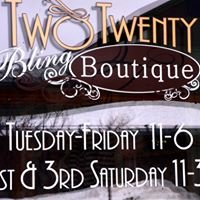"Two-Twenty ""Bling"" Boutique"
